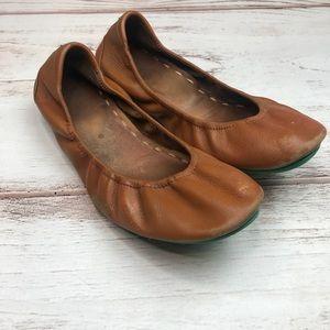 Chestnut Tieks Size 8